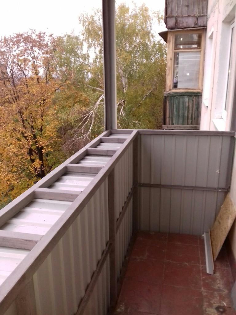 Фотогалерея обшивка балконов пластиком, вагонкой. утепление .