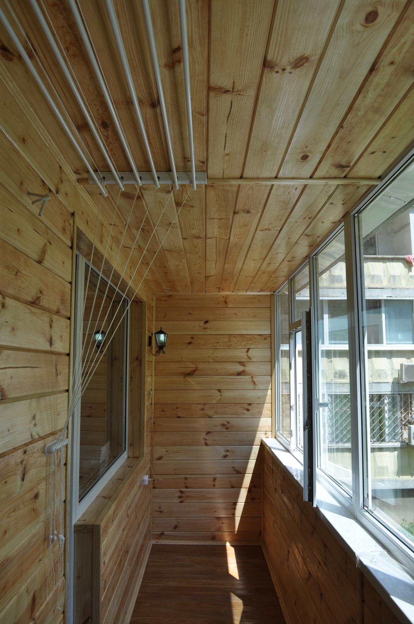 Идеи для балкона из вагонки фото