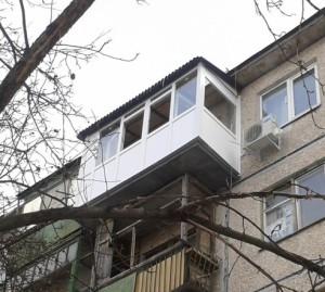Увеличение балконов